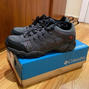 Columbia men's waterproof sneakers.